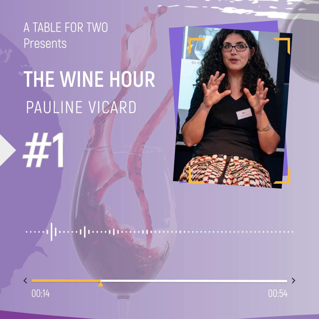 Pauline Vicard The Wine Hour